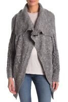 $ 495 NEW ! NWT JAMES PERSE Wool Cable Cardigan in Gray Size 3 *Limited Edition*