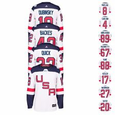 """NHL 2016 Adidas Premier """"World Cup Of Hockey"""" USA Player Jersey Collection Men's"""