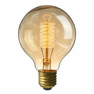 Vintage Filament LED Edison Bulb Dimmable E27 Decorative Industrial Light A+ UK