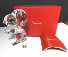 Baccarat Crystal SNOOPY Figurine, Mint with Box