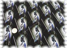 Ferne Galaxien Stretch-Jersey schwarz blau Baumwolle Shirtstoff 50 cm