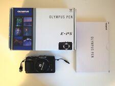 Olympus E-P5 EP5 16.1 MP Mirco Four Thirds Digital Camera Black - Body Only