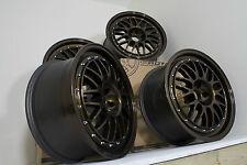 "Custom Painted Rota MC3 18"" alloys VW Audi Seat Skoda Subaru Toyota 5x100"