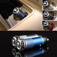 Mini Auto Car Fresh Air Ionic Purifier Oxygen Bar Ozone Ionizer Cleaner 12V NEW