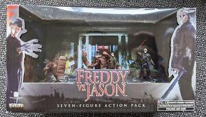 Freddy Vs Jason Seven Miniature Figure Action Pack Wizkids HorrorClix