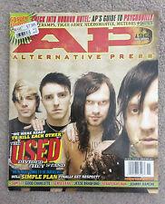 ALTERNATIVE PRESS Magazine The Used Band Nov 2004 #196 Simple Plan/Psychobilly