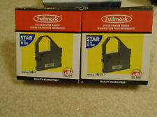 2 Printer Ink Ribbons for Star LC 10, NX 1000, and others