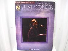 Stevie WonderThe Best of Keyboard Signature Licks CD Sheet Music Song Book
