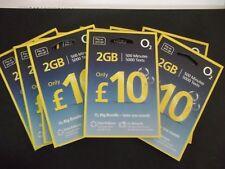 O2 Sim Card - 2G/3G/4G Sim Card - Pay As You Go / PAYG – Standard Micro Nano