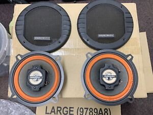 Sparkomatic 13cm Vintage Classic Car Speakers With Covers