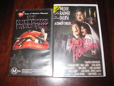 2X VHS Horror Comedy Haunted Honeymoon & Rocky Horror Picture Show Rated M & PG