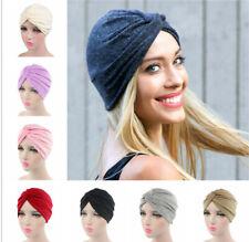 Women's Cotton Beanie Chemo Hat Slouchy Soft Turban Headwear Head Wrap Hair Cap