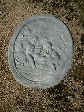 More details for large antique lead plaque