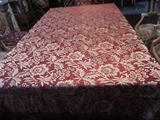 Vintage Satin Brocade Bedspread