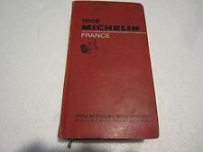 Guide Michelin France 1968