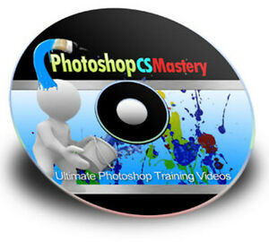 Master Photoshop CS4 Video Tutorials on 1 CD