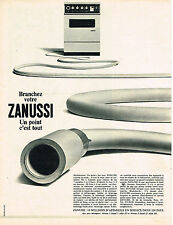 PUBLICITE  1968   ZANUSSI  lave linge machine  à laver