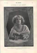 1905 Miss Amy Webster NEW YORK Scolaretti Hamilton FISH Park