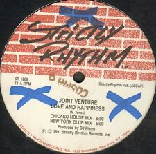 Joint Venture - The Move - Strictly Rhythm - SR 12428 - 1236 Usos 1991