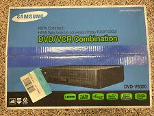 New listing New Samsung Dvd-V9800 Progressive Scan Dvd Player 4 Head Hi Fi Stereo Vcr Combo