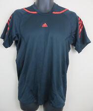 Adidas adizero Mens Football Shirt Training Soccer Jersey Black Sample Medium