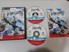 ROBOTS SIERRA JUEGO OFICIAL DE LA PELICULA - JUEGO PC 2 X CD-ROM ESPAÑOL