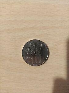 100 Lire Minerva Del 1955 circolata