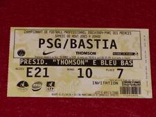 COLLECTION SPORT FOOTBALL  TICKET PSG   BASTIA 2 AOUT 2003 Champ.France adb604eb4eb