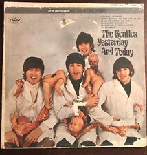 The Beatles Yesterday And Today Butcher Album  Peeled 2nd state ST 2553 Stereo