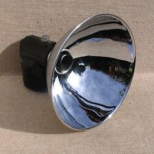 "Graflex 5 1/4"" flash reflector head assembly for 3 cell flash unit"