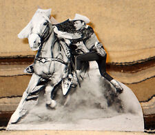 "Roy Rogers & Trigger ""King of the Cowboys"" Figure Tabletop Display Standee 8"""