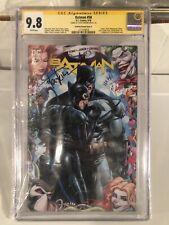 BATMAN #50 SS 9.8 SIGNED TYLER KIRKHAM SEXY CATWOMAN COVER HOT