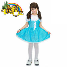 Girls Wizard of OZ Dorothy Fancy Dress Storybook Fairytale Summer Dance Costume