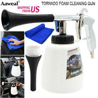 Air Pulse Car Cleaning Gun High Pressure Surface Interior Exterior Tornado Tool
