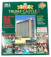"Trump Castle II IBM 3.5"" Floppy Disk Video Game"