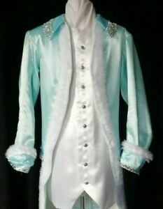 """Regency style 3 piece male costume 40""""-42""""  chest.  Good for Panto Prince"""