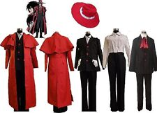 Hellsing Alucard Cosplay Costume Set Vampire Hunter New