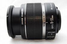 NearMint Canon EF-S 18-55mm f/3.5-5.6 IS Lens w/caps No.097