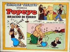 COLLANA NEW COMICS NOW COMIC ART N.143 POPEYE BRACCIO DI FERRO DAILY STRIPS 1929