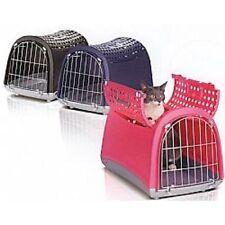 trasportino per cani piccoli o gatti modello linus cabrio 3 colori disponibili