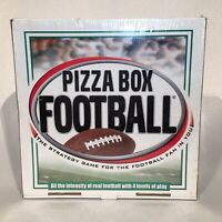 Pizza Box Football Strategy Board Game 1 or 2 Players / New Factory Sealed