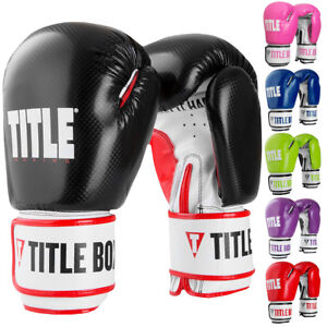 Title Boxing Vengeance Hook and Loop Fitness Gloves