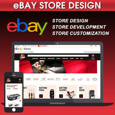 eBay Store Design Template Shop Custom Responsive Listing Https Mobile HTML