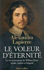LE VOLEUR D'ÉTERNITÉ - ALEXANDRA LAPIERRE