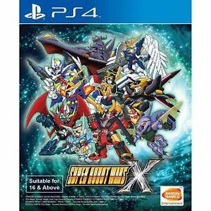 Super Robot Wars X English Subtitle ( PlayStation 4 / PS4 ) Brand new