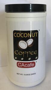 Coconut Coffee Colombian Coffee Antioxidants CAcafe CA Cafe 19.5 Oz NEW