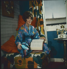The Avengers Linda Thorson in dressing gown rare Original 2 1/4 Transparency