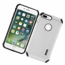 Fundas y carcasas Para iPhone 7 Plus color principal plata para teléfonos móviles y PDAs Apple