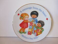 """AVON PLATES """"6"""" - MOTHERS DAY COLLECTION - NEVER USED - FREE SHIPPING"""