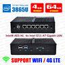 Fanless Mini PC Intel 7th Gen 3865U 6LAN Firewall VPN Router with AES-NI 4G/64G